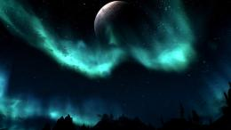 Skyrim: NightSky LightsDesktop Wallpaper 986