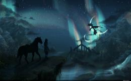 Skyrim By Night by ANNErgy on DeviantArt 1443
