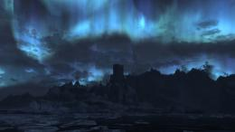 Skyrim Landscape Wallpaper Night Skyrim landscape 16 by 778