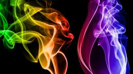 Rainbow Smoke Wallpapers 613