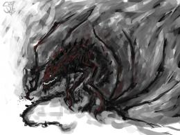 Smoke Dragon by Halycon450 on DeviantArt 529