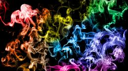 Rainbow Smoke HD WallpapersDesktop Wallpapers 1197