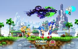 HD Sonic Generations Fan Wallpaper 1976