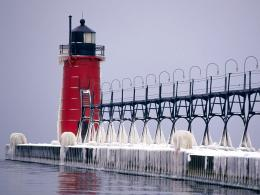 Lighthouse Desktop Backgrounds and WallpaperSouth Haven Pier 1150