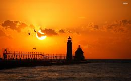 Grand Haven Lighthouse wallpaper725473 1906