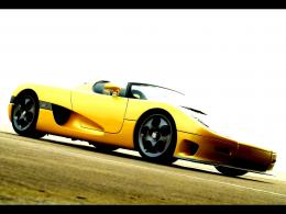 Yellow koenigsegg ccr top down convertible:High Contrast 240