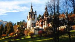 Wondrous Peles Castle In Romania Hd Wallpaper | Wallpaper List 1129