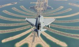 Eurofighter Typhoon Over Dubai Hd Wallpaper | Wallpaper List 586