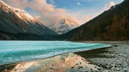 Spectacular icy lake In Siberia wallpaper in Nature wallpapers 1942