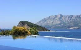View from a balcony with infinity pool Widescreen Wallpaper#9039 304