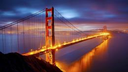 Golden Bridge | Widescreen and Full HD Wallpapers 1377