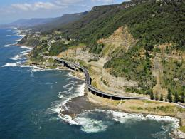 Grand Pacific Drive Sea Cliff BridgeSplendid Wallpaper HD 734