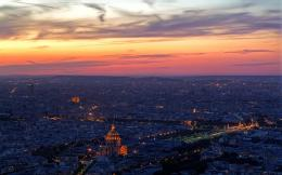 Paris: Paris at Night Wallpaper 1734