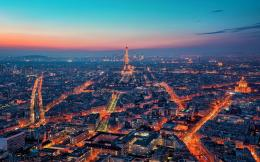 Horizon Night Lights Paris wallpapers | Horizon Night Lights Paris 1704