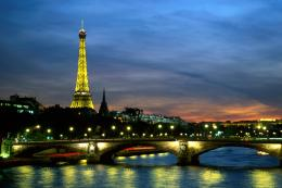 Paris: Paris at Night Wallpaper 1825