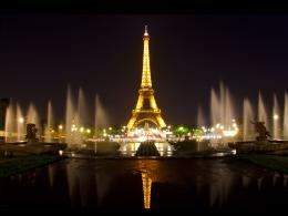 tower eiffel tower wallpaper eiffel tower paris at night wallpaper 1850
