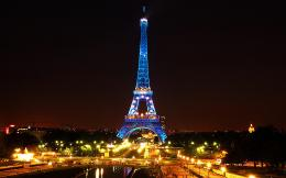 Eiffel Tower Paris Night Wallpaper HDPlacesAmazing Photo Gallery 1801