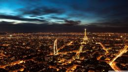 Download Splendid Paris in night wallpaper in CityWorld wallpapers 924