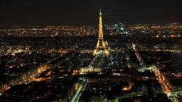Tower Paris landscapes city lights top view cities skyline wallpaper 511