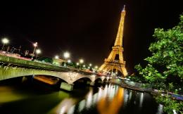 Eiffel tower paris night Wallpapers Pictures Photos Images 1815