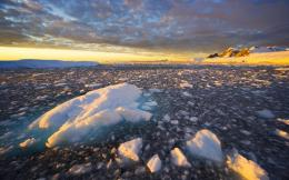 Sunset over the Icy Horizon | Widescreen and Full HD Wallpapers 501