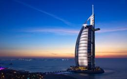 Burj Al Arab, Dubai at twilight | Widescreen and Full HD Wallpapers 1687