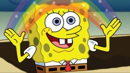 Spongebob Squarepants Rainbow Wallpapers Of Free Cartoon Wallpapers 1192