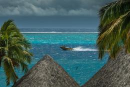 Stormy sky at Tahiti wallpaper 913