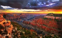 download amazing gr canyon wallpaper tags cliffs canyon sunset clouds 1023