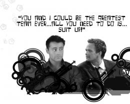 JoeySuit upBarney Stinson Wallpaper13668242Fanpop 283