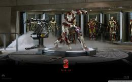 Iron Man 3Suit Up Wallpaper Full HD [1680x1050]Free wallpaper 1347