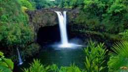 Rainbow Falls, Big Island, Hawaii 1848