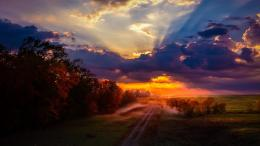 Sunset Nature Path Photography Clouds hd wallpaper #1906727 474