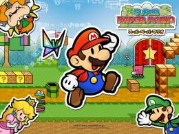 1440x900 pixel Desktop Wallpapers : Super Paper Mario Wallpaper Super 828