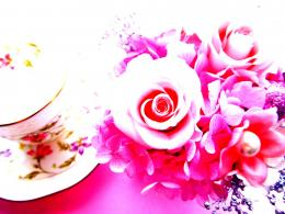 Tea Cup Roses Pearl Decoration Abstract hd wallpaper #1655395 1353