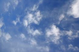 Blue Sky with White Clouds Texture Picture | Free Photograph | Photos 1443