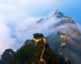The Great Wall Under Clouds Hd Wallpaper | Wallpaper List 157