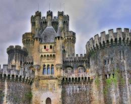 Great Castle In Spain Hd Wallpaper | Wallpaper List 586