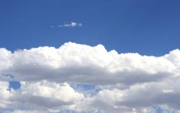 Cotton clouds in Blue Sky Picture | Free Photograph | Photos Public 1140