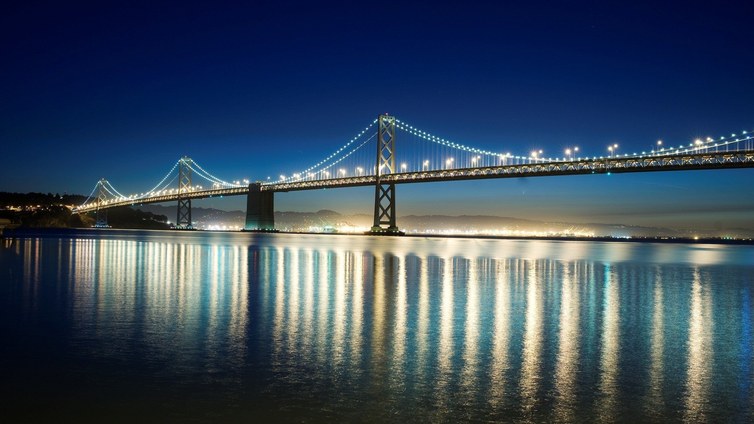 Bay Bridge San Francisco Night Viewid: 90440– BUZZERG 705