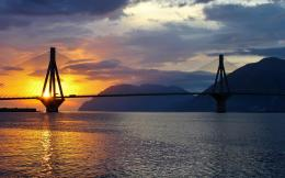 Sunset Over Bay Bridge Hd Wallpaper | Wallpaper List 228