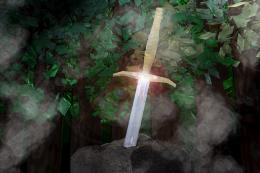 Sword in the Stone by lady die on DeviantArt 1448