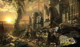 : Post Apocalyptic Tornado Scene | Desktop Wallpapers and Backgrounds 1275