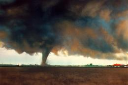 Tornado painting wallpaper 902