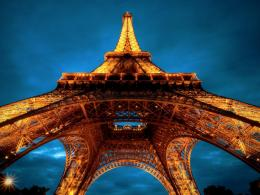 Gorgeous View Under The Eiffel Tower Hd Wallpaper | Wallpaper List 997