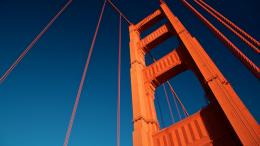 Golden Gate Bridge Tower Hd Wallpaper | Wallpaper List 489