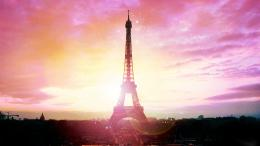 pink sweet eiffel tower wallpaper 120