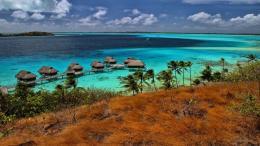 Bora Bora Water Bungalows Desktop Background 583866 : Wallpapers13 com 1638