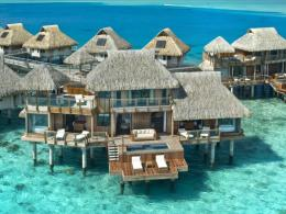 Hilton Bora Bora Hotel Water Bungalow HD desktop wallpaper 659