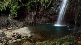 Rabacal Waterfall Hd Wallpaper | Wallpaper List 1099